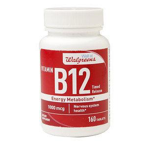 Walgreens Vitamin B12 Time Released Tablets, 160 ea