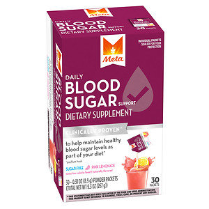 Meta Blood Sugar, Powder Packets, Pink Lemonade, 9.3 oz