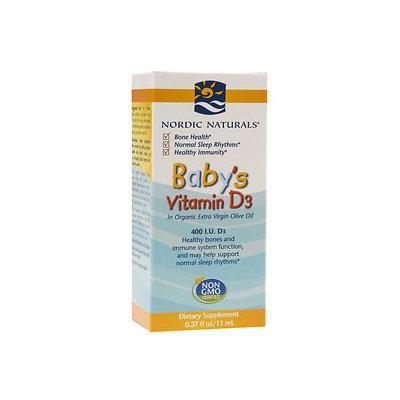 Nordic Naturals Baby's Vitamin D3 0.37 fl oz