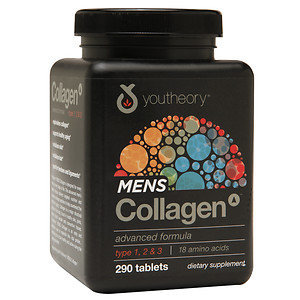 Youtheory Men's Collagen Advanced Formula 290 Tablets