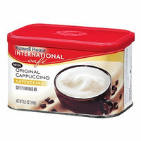 Maxwell House International Cafe Style Beverage Mix, Original Cappuccino, 8.3 oz