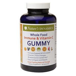 Natures Dynamics Nature's Dynamics - Body Boost Immune & Vitamin C Whole Food Gummy - 60 Gummies