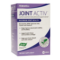 Evalar FEMiWELL Joint Activ Maximum Joint Health, 120 ea