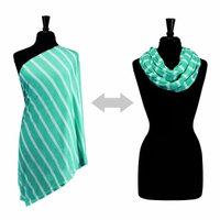 Itzy Ritzy Nursing Happens Infinity Breast Feeding Scarf (Turquoise)