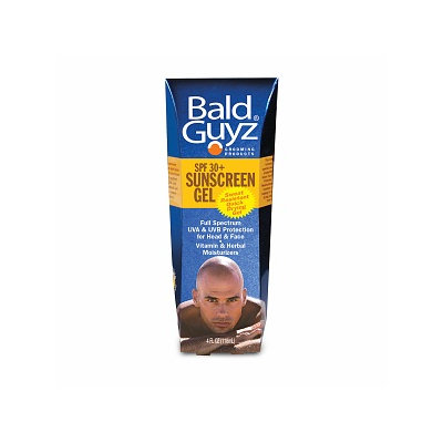 Bald Guyz Sunscreen Gel, SPF 30+, 4 oz