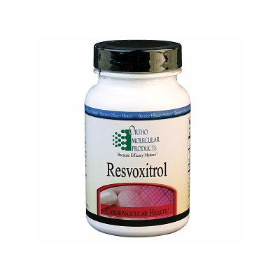 Ortho Molecular Products Resvoxitrol, 60 ea
