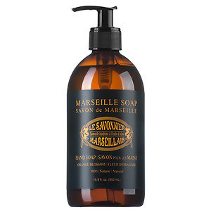 Le Savonnier Marseillais Liquid Hand Soap, Orange Blossom, 16.9 oz