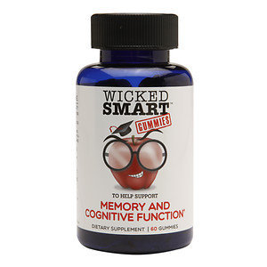 Wicked Smart Memory & Cognitive Function Gummies, 60 ea