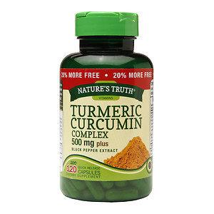 Nature's Truth Turmeric Curcumin Complex 500mg Plus Black Pepper Extract