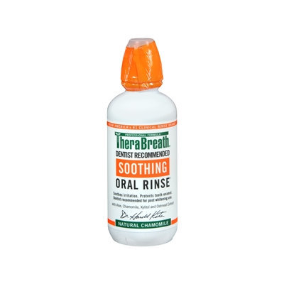 TheraBreath Soothing Oral Rinse, Chamomile, 16 oz