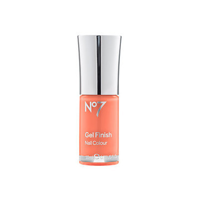 Boots No7 Gel Finish, Orange Spice, .33 oz