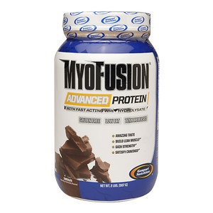 Gaspari Nutrition MyoFus Protein Powder, Chocolate, 32 oz