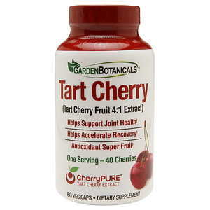 Garden Botanicals Tart Cherry, 60 ea