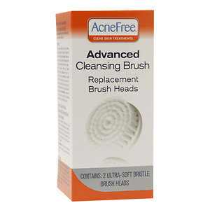 University Medical AcneFree Cleansing Duo Replacement Brush Heads, 2 ea