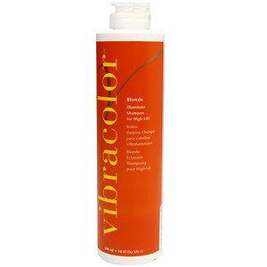 Brocato Vibracolor Blonde Illuminate Shampoo for High-Lift, 10 oz