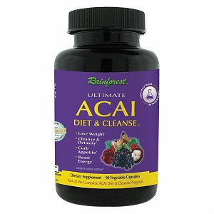 Rainforest Acai Diet & Cleanse, Capsules, 90 ea