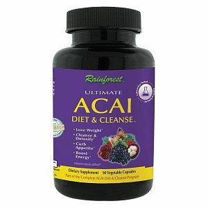 Rainforest Acai Diet & Cleanse, Capsules, 90 ea