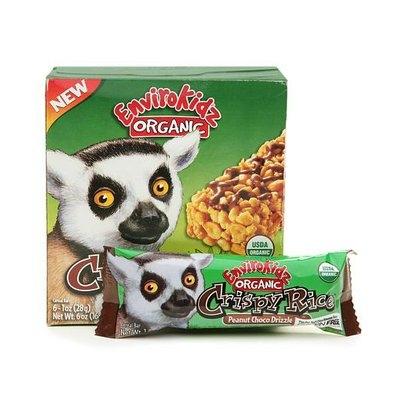 EnviroKidz Organic Crispy Rice Bar Peanut Choco Drizzle