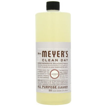 Mrs. Meyer's Clean Day All Purpose Cleaner, Lavender, 32-Ounce Bottles (Case of 6)