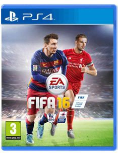 FIFA 16 Game PS4 (with 15 FUT Gold Packs Pre-Order Bonus)