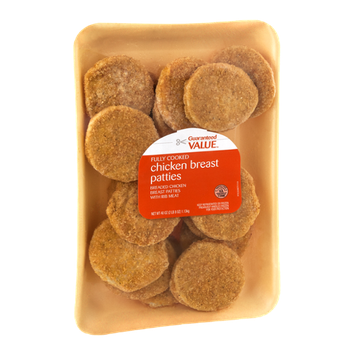 Guaranteed Value Fully Cooked Chicken Breast Patties