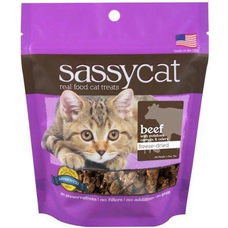 Herbsmith Sassy Cat Freeze Dried Beef Cat Treats 1.25 oz.