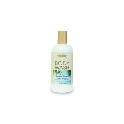 Hobe Naturals Body Wash, Tropical Breeze, 10-Fluid Ounce (Pack of 2)