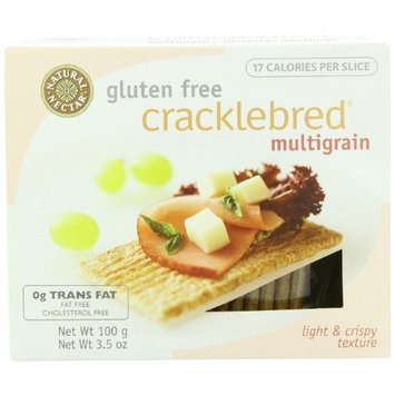 Natural Nectar Gluten Free Cracklebred, Multigrain, 3.5-Ounce Boxes (Pack of 12)