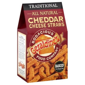 Geraldine?s Geraldine's Cheese Straws, Traditional, 4.5-Ounce (Pack of 6)