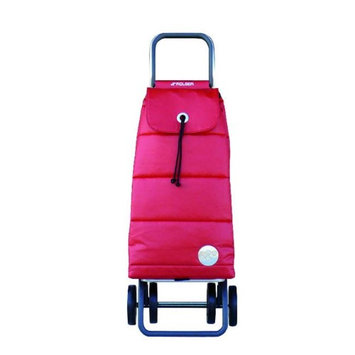 Rolser Logic DOS +2 Pack Polar Shopping Trolley, Rojo