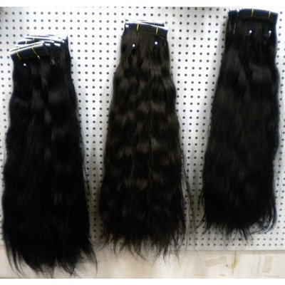 Sleek Hair Brazilian Remy Hair Weft Water Wave 18'' 1b