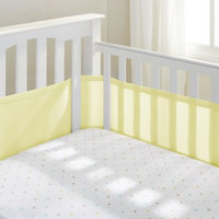BreathableBaby Breathable Mesh Crib Liner by Breathable Baby-Yellow