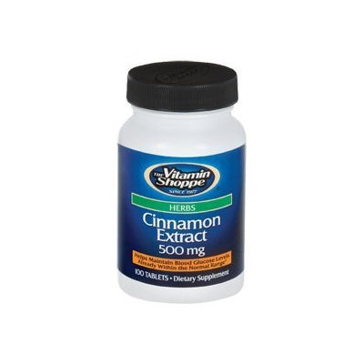 Vitamin Shoppe Cinnamon Extract