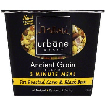 Urbane Grain Ancient Grain Blend Fire Roasted Corn & Black Bean 3 Minute Meal, 2 oz, (Pack of 6)