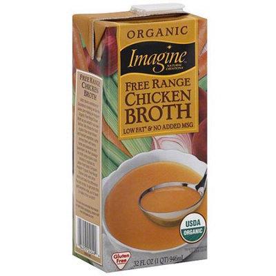 Generic Imagine Foods Organic Free Range Chicken Broth, 32 oz (Pack of 12)