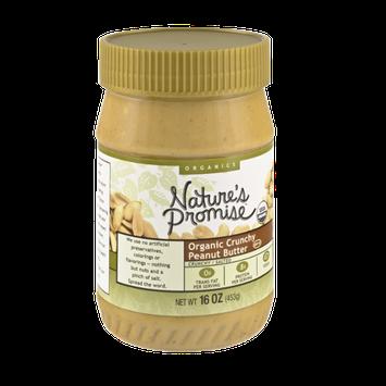 Nature's Promise Organics Crunchy Peanut Butter