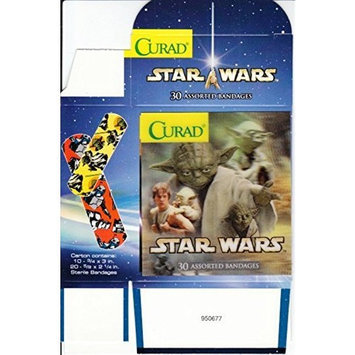 MISSING Curad Star Wars Holographic Bandages Band Aids