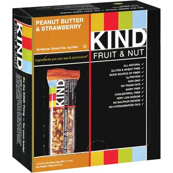 Kind Peanut Butter & Strawberry Fruit & Nut Bars