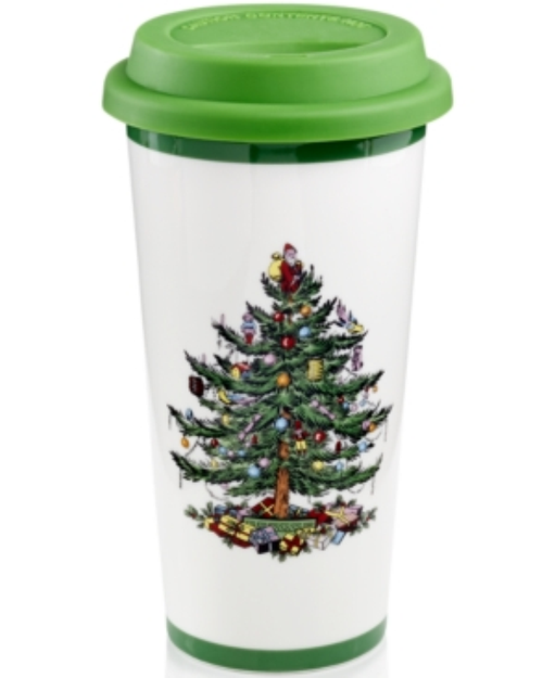 Spode Christmas Tree Travel Mug