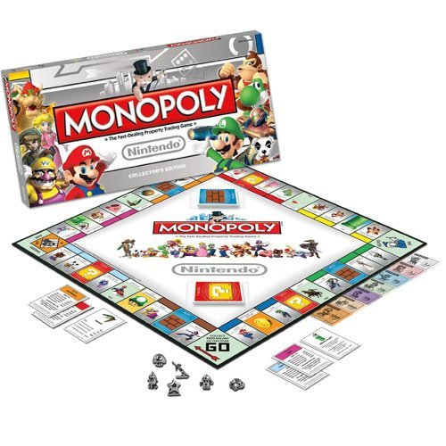 USAOPOLY 190766 Nintendo Monopoly Game Collectors Edition