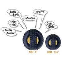 Pet Qwerks, Inc. PetQwerks Animal Sounds X-Tire Ball Dog Toy