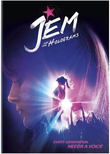 Jem and the Holograms DVD