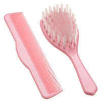 NUK Baby's First Comb and Brush Set, Colors May Vary (Discontinued by Manufacturer)