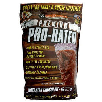 Pro Rated Wellements Pro-Rated Protein Supplement, Milk Chocolate , 6 lbs (2721 g)