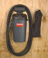 DAYTON 13J021 HangUp Wet/Dry Vacuum, 5.5 HP, 5 gal, 120V