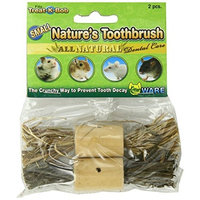 Ware Pine Wood Natures Toothbrush Small Pet Chew Treat, Small
