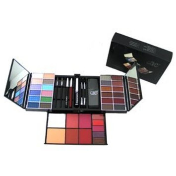 Shany Cosmetics SHANY Makeup Kit with Red Case, 2010 Collection, Foldable, 3.26 Ounce