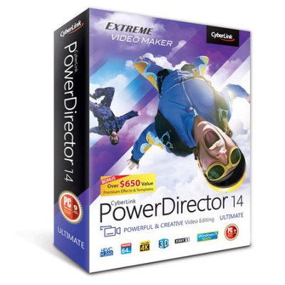 CyberLink PDR-0E00-IWM0-00 PowerDirector 14 Ultimate (Email Delivery)