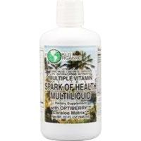 World Organics World Organic Spark Of Health MultiLiquid -- 32 fl oz