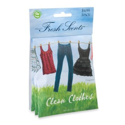 Fresh Scentsa ¢ Packet Set of 3 - Clean Clothes